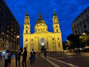 wir stellen hier Budapest vor mit dem Stephansdom